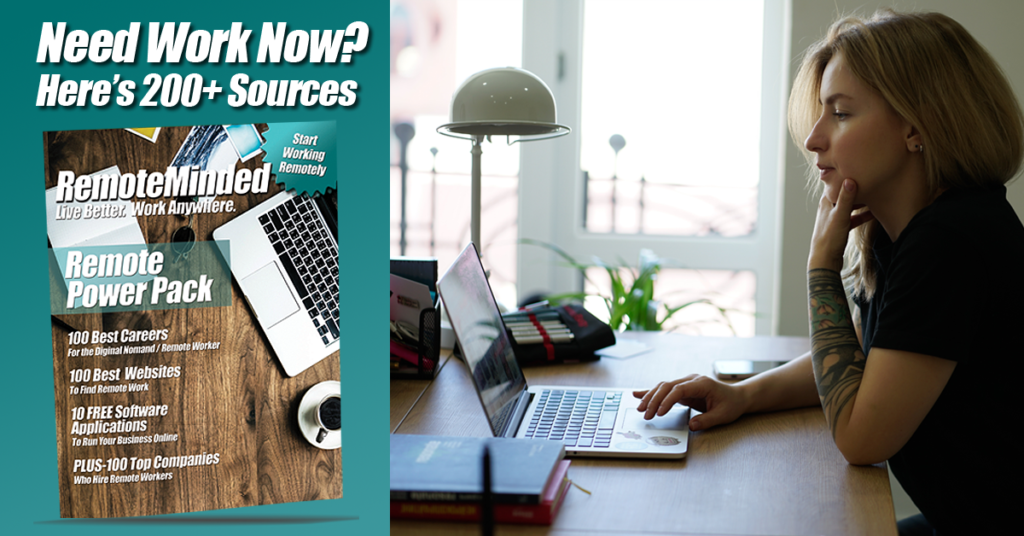 Need work now? Here's 200+ Sources
